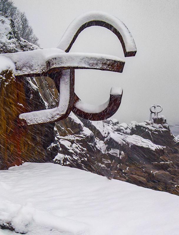 Chillida-Peine-Nevado - Fotos de San Sebastián