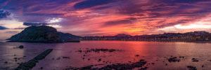 Amanecer en Ondarreta - Fotos de San Sebastián