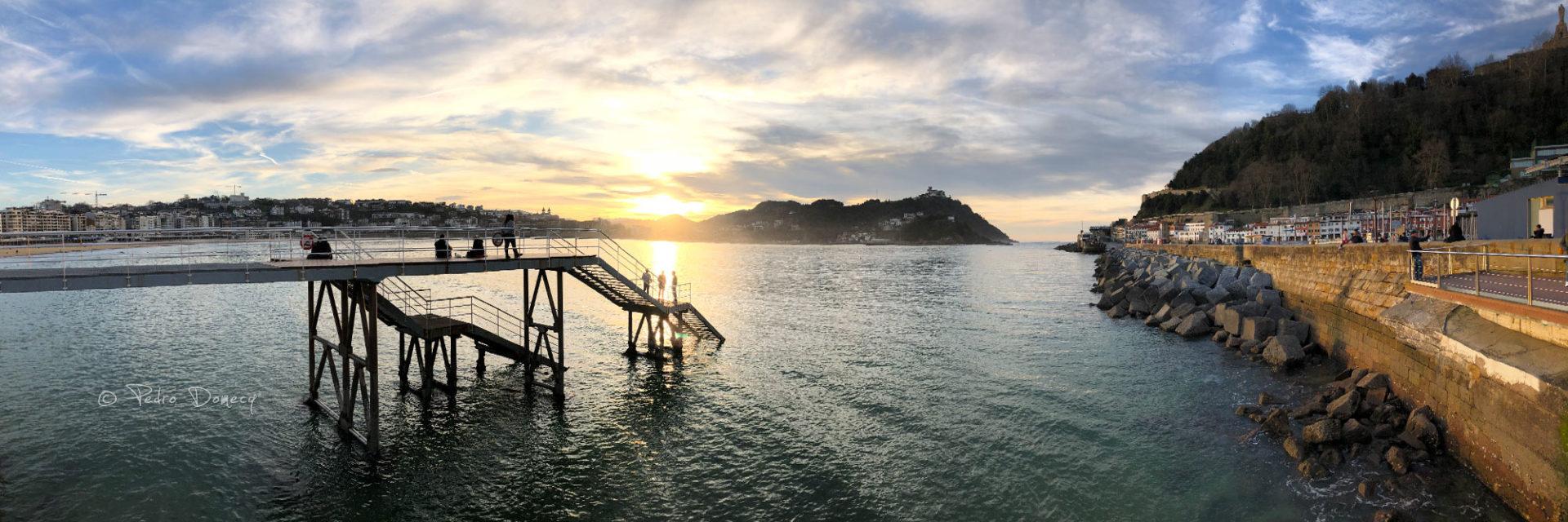 Atardecer en la Bahía de La Concha - Fotos de San Sebastián