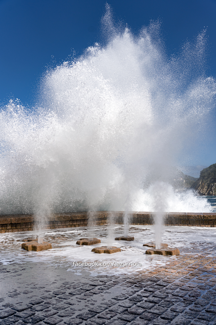 Peine del Viento Oleaje - Fotos de San Sebastián