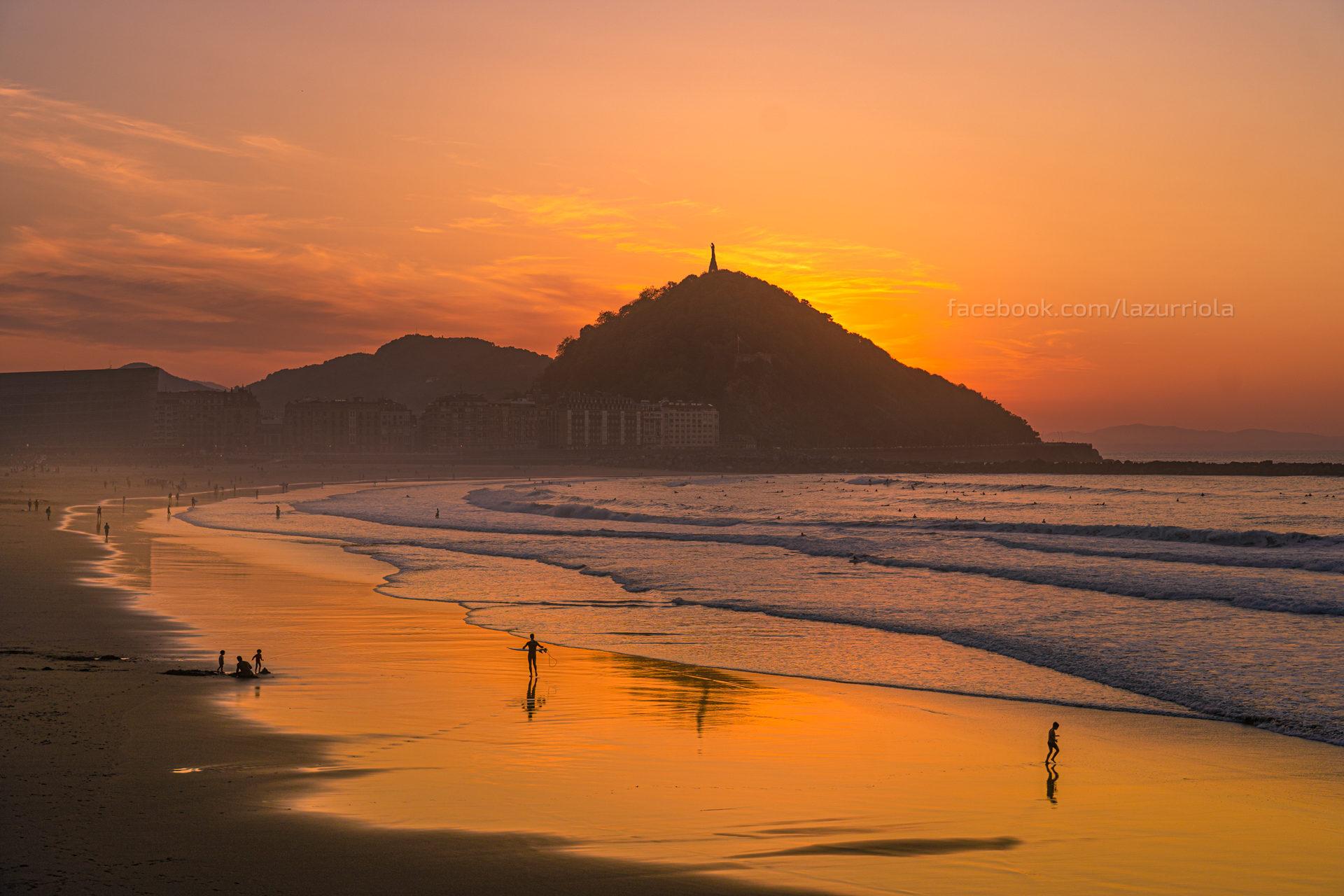 Zurriola Sunset