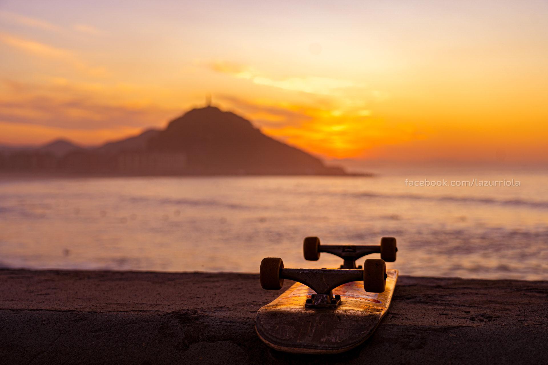 Zurriola Sunset Skate